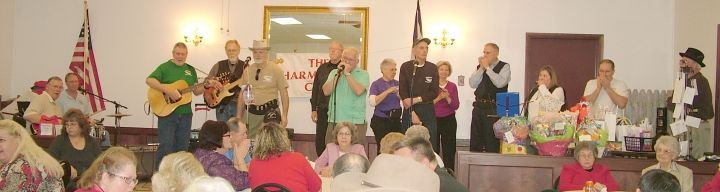 Harmonica CLub plays at Greenbottom